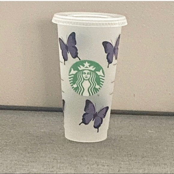 Butterfly Starbucks Cup